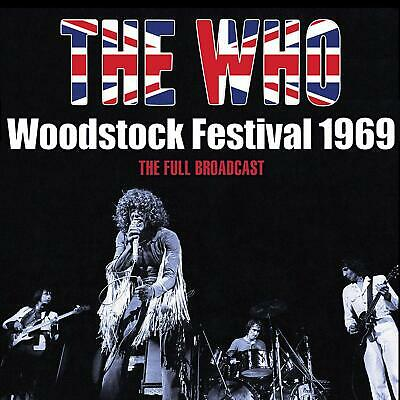 THE WHO LIVE COMPLETE 1969 WOODSTOCK CONCERT CD *Sealed*