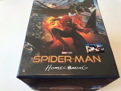 Spider-Man Homecoming Maniacs Box 3D+4K Blu-ray steelbook Filmarena exclusive