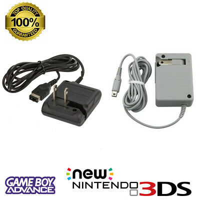 Nintendo 3DS XL 2DS DSi GBA Gameboy Advance SP Home Wall Charger AC Adapter
