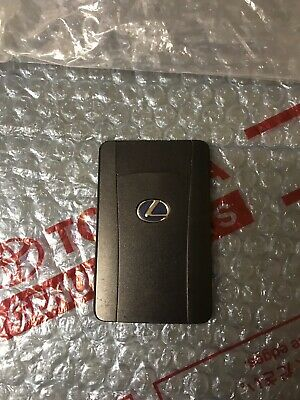 Genuine Lexus RX450 RX350 2009-2015 Key Card Used