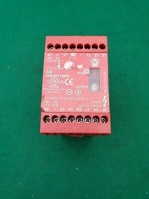 Allen Bradley Guard Master CU1-07114 Failsafe Timer Relay