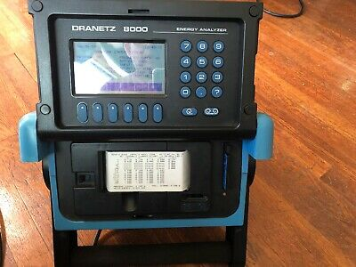 Dranetz 8000 Energy Analyzer 8000-2/1/4