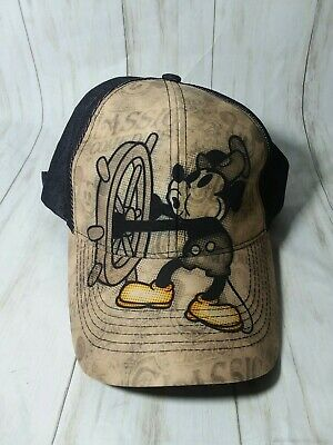 56a66f42f82c9 Walt Disney World Parks Steamboat Willie Baseball Hat Cap adult mickey mouse