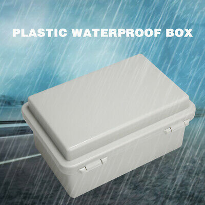 Waterproof IP65 Enclosure ABS Control Electronic Junction Cable Box 150*100*70mm