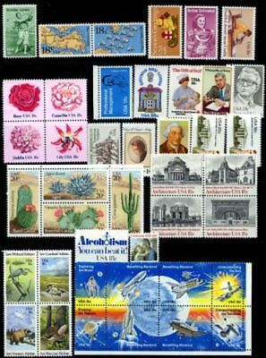 US, 1981 full Commemorative year set , sc1874//1945 42 stamps, MNH
