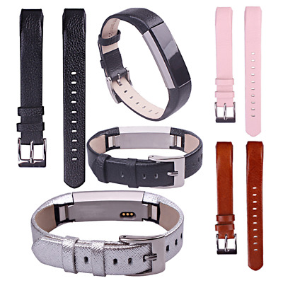 For Fitbit Alta / Alta HR Leather Watch Replacement Band Wrist Strap