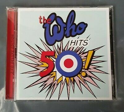 THE WHO - WHO HITS 50: 2CD SET (THE GREATEST HITS / VERY BEST OF) New