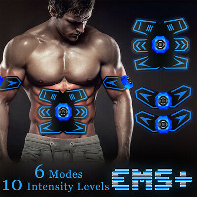 USB Electrostimulation  Musculation Muscle Ceinture Abdominale Rechargeable