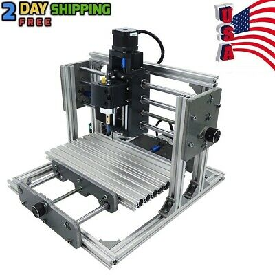 DIY CNC 10x7x3inch Router Kit PCB Milllng Wood Carving Metal Engraving Machine