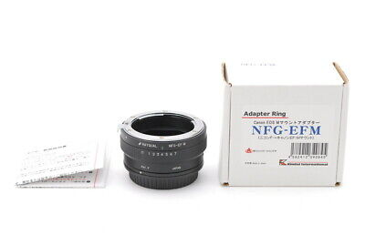 [MINT IN BOX] Rayqual Mount Adapter NFG-EFN Nikon-Canon From Japan #511