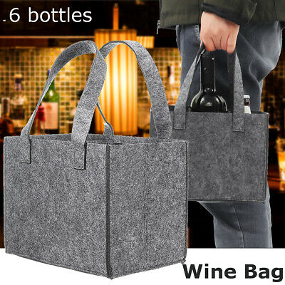 6 Bottles Wines Beer Drinks Pack Travel Picnic Camping Beach Handbags Portable