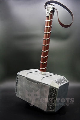 2019 [Full Metal] CATTOYS THE Avengers Thor Hammer 1:1 Replica Prop Mjolnir Gift