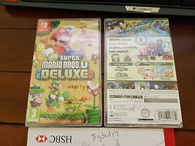 New Super Mario Bros U Deluxe Nintendo Switch UK NEW & SEALED FAST DELIVERY