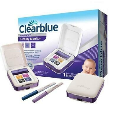 NEW Clearblue Advanced Touchscreen Fertility Monitor . Pregnancy Test Kit  New