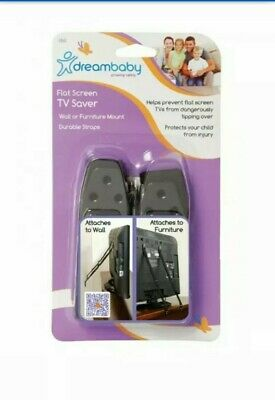 New Dreambaby Flat Screen LCD Plasma TV Baby Safety Saver Straps