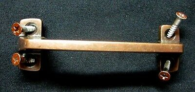 1 Vintage 1962 Amerock Copper Window Sash Lift Pull Handle: Drawer Holes=3-3/8""