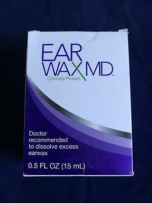 NEW Earwax MD Earwax Removal Kit With Rinsing Bulb