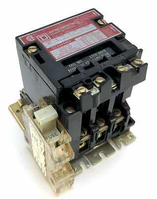 Square D 8903SMO-2 30A Lighting Contactor w/120V Coil + 6A Aux Fuse Holder (Z4)