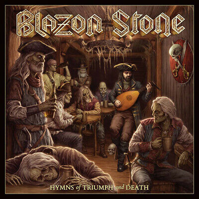 BLAZON STONE Hymns of triumph and death CD Stormspell Records 2019