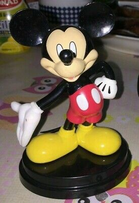 Modellino Figure Statue Walt Disney-Topolino Model Mickey Mouse Red Shorts Dress