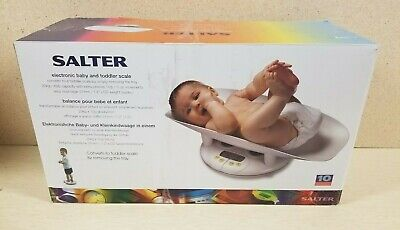 Infant & Toddler Bathroom Scale Salter 914 Baby Weight up to 44lb NEW OPEN BOX