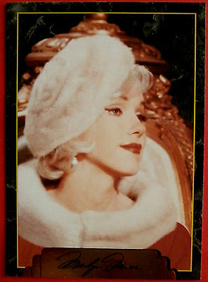 """""""Sports Time Inc."""" MARILYN MONROE Card # 168 individual card, issued in 1995"""
