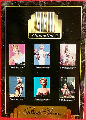 """""""Sports Time Inc."""" MARILYN MONROE Card # 200 individual card, issued in 1995"""
