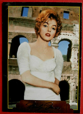 """""""Sports Time Inc."""" MARILYN MONROE Card # 124 individual card, issued in 1995"""