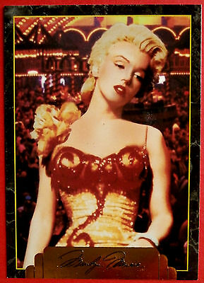"""""""Sports Time Inc."""" MARILYN MONROE Card # 186 individual card, issued in 1995"""