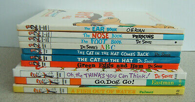 Dr Seuss Beginner Books + Bright & Early Books ~ Lot of 10~ I Can Read By Myself