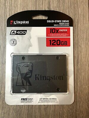 "Kingston A400 120GB 2.5"" SATA III Solid State Drive (SA400S37/120G)"