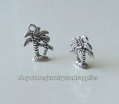 70pcs tibetan silver tone Christmas tree charms EF1511