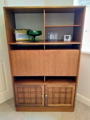 Mid Century Vintage Retro 1960's  AH Younger Teak Sideboard/Cocktail Cabinet