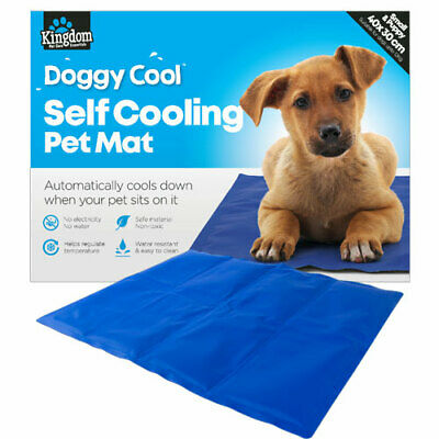Dog Pet Cooling Mat Gel Mat Bed Summer Heat Relief