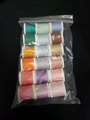 Lot Of 18 Spools Madeira Thread. 200 Meter Spools.