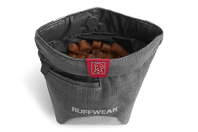 Ruffwear Dog Treat Pouch with Waist Clip and Belt, One Size, Twilight Gray,