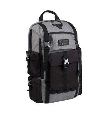 4836cd3d7fc Under Armour Project Rock Regiment Backpack Chase Greatness The Rock Bag UA
