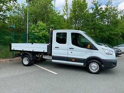 Ford Transit 2.2TDCi 125PS RWD 2015-54 Plate Double Cab 1-Way Tipper 350 L3H1