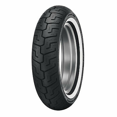 Dunlop D401 Rear Motorcycle Tire 150/80B-16 (71H) Medium White Wall for