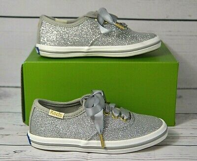 Keds For Kate Spade New York Girls Champion Rose Gold Glitter Shoes Sz 10 M Euc Girls' Shoes Clothing, Shoes & Accessories