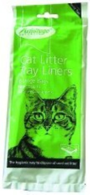 Large Cat Litter Tray Liners 12 Packs of 6