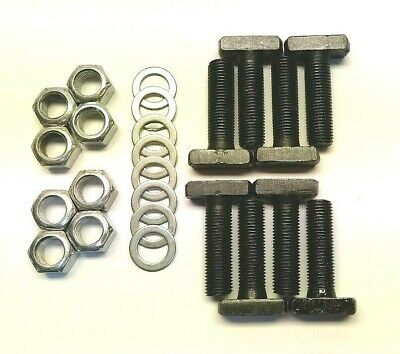 Ford 9 Inch Axle Retainer Bolt Kit T Bolts And Crimp Lock Nuts Original Style