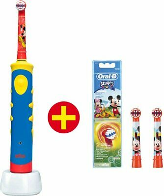 Oral-B Mickey Mouse + 2 extra opzetborstels