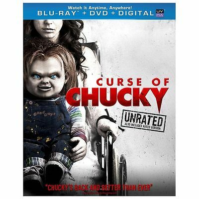 Curse of Chucky (Blu-ray/ DVD, 2013, 2-Disc Set, Unrated)