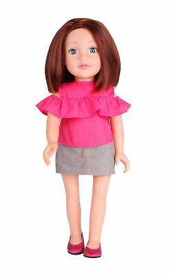 Chad Valley Designafriend Keira Doll - 18inch/45cm with Denim Skirt New Boxed