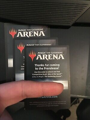 War of the Spark Draft Code Magic Arena MtG from Prerelease Kit EMAIL ONLY Fast