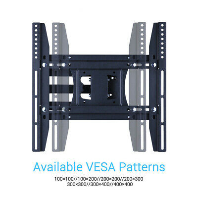 "27-50"" Cantilever Arm TV Wall Mount Tilting LED LCD Bracket Max VESA 400mmx400mm"