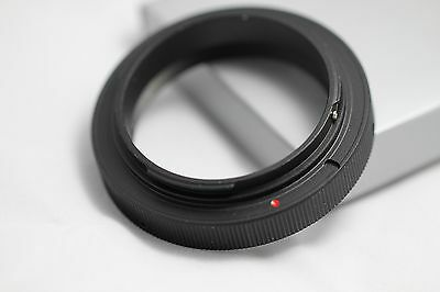 """New Canon EOS EF camera adapter for 2"""" 2 inch Telescope eyepiece lens M48*0.75"""