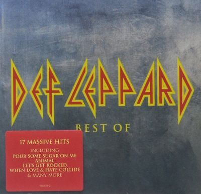 Def Leppard Best of CD NEW