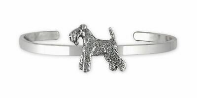 Kerry Blue Terrier Jewelry Sterling Silver Handmade Kerry Blue Terrier Bracelet